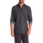 Wiley True Modern-Fit Dress Shirt // Dark Gray (3XL)