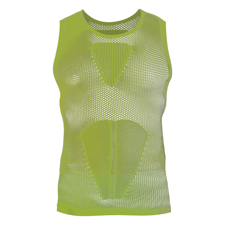 Iron-ic 4.0 Extralight Sleeveless Shirt // Lime Yellow (S/M)