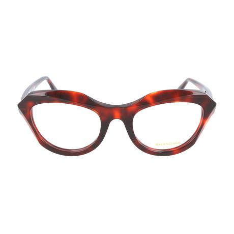 Women's BA5076 Optical Frames // Red Havana