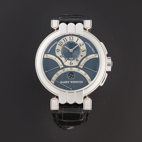 Harry Winston Premier Excenter Chronograph Automatic // PREACT39WW007 // Pre-Owned