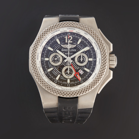Breitling Bentley GMT Chronograph Automatic // EB043210/M533-222S // Pre-Owned