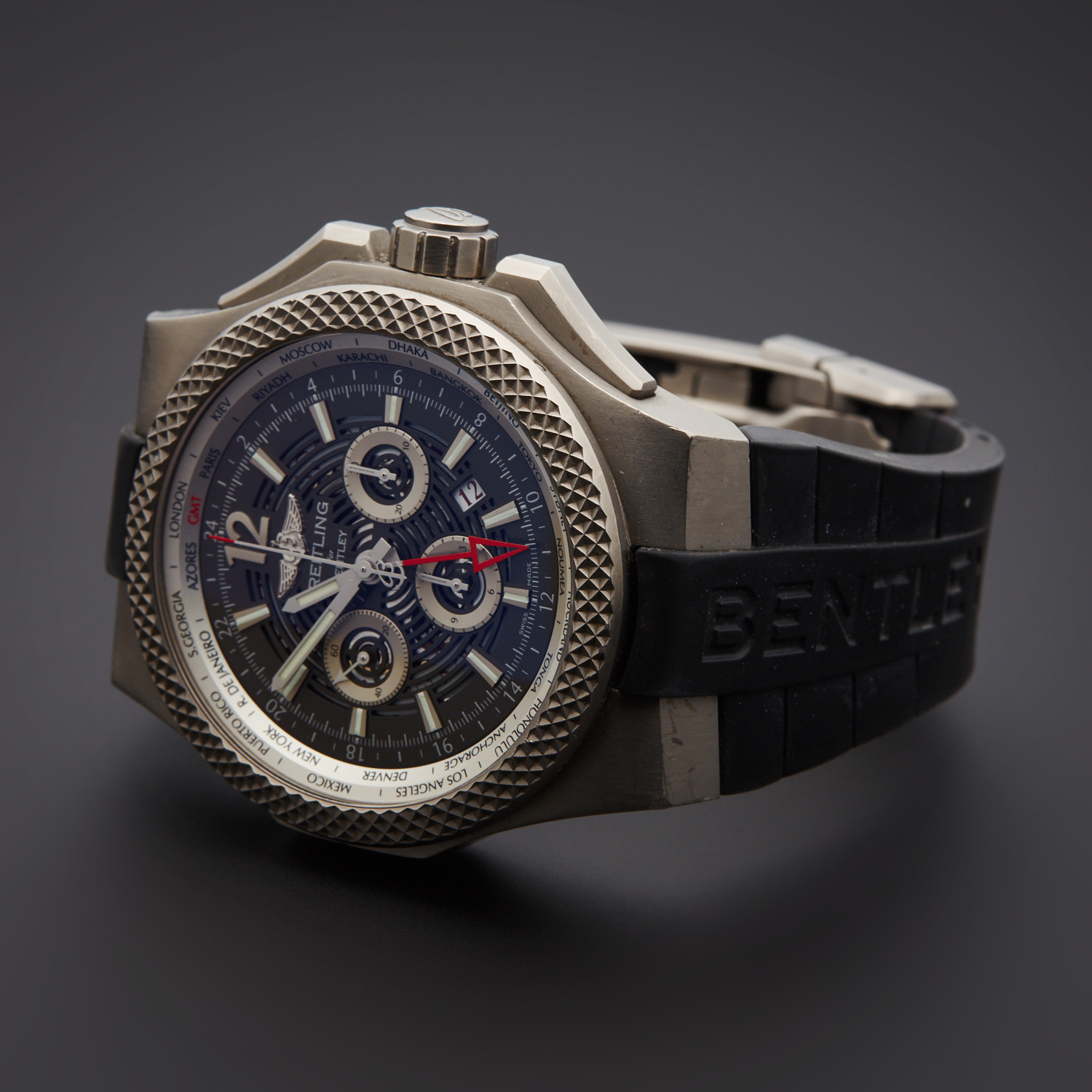 Breitling Bentley GMT Chronograph Automatic // EB043210