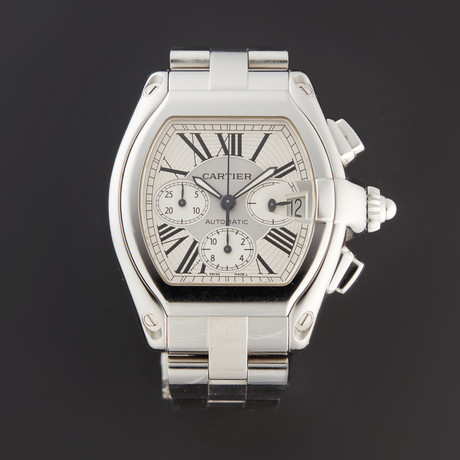 Cartier Roadster XL Chronograph Automatic // W62019X6 // Pre-Owned