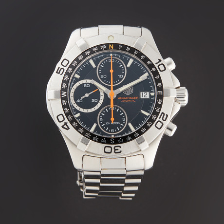 Tag Heuer Aquaracer Chronograph Automatic // CAF2113.BA0809 // Pre-Owned
