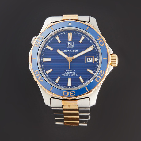Tag Heuer Aquaracer Automatic // WAK2120.BB0835 // Pre-Owned
