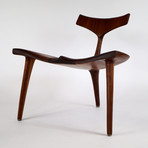 Whale Chair (Walnut)