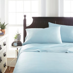 Signature Bamboo Collection Sheet Set // Aqua (Twin)