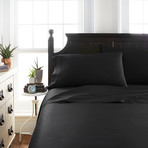 Signature Bamboo Collection Sheet Set // Black (Twin)