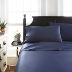 Signature Bamboo Collection Sheet Set // Navy (Twin)