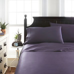 Signature Bamboo Collection Sheet Set // Purple (Twin)