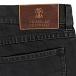Brunello Cucinelli // Cotton Denim Five Pocket Jeans // Gray (44)