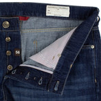 Brunello Cucinelli // Faded Denim Jeans // Indigo Blue (56)