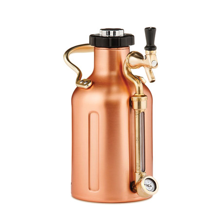 uKeg™ // Copper + 10 CO2 Cartridges (64oz)