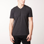 V-Neck Pepper Short-Sleeve Tee // Gray + Dark Gray + Black // Pack of 3 (XL)
