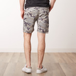 Camo Shorts // Siberian Gray Camo (XL)