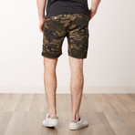 Camo Shorts // Green Camo (L)