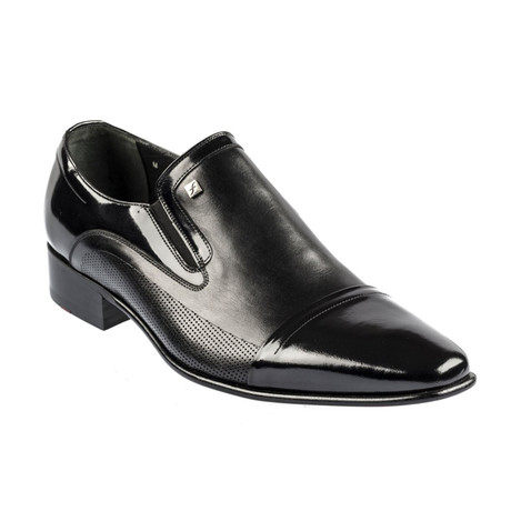 Vangarre Slip On Dress Shoes // Black (Euro: 37)