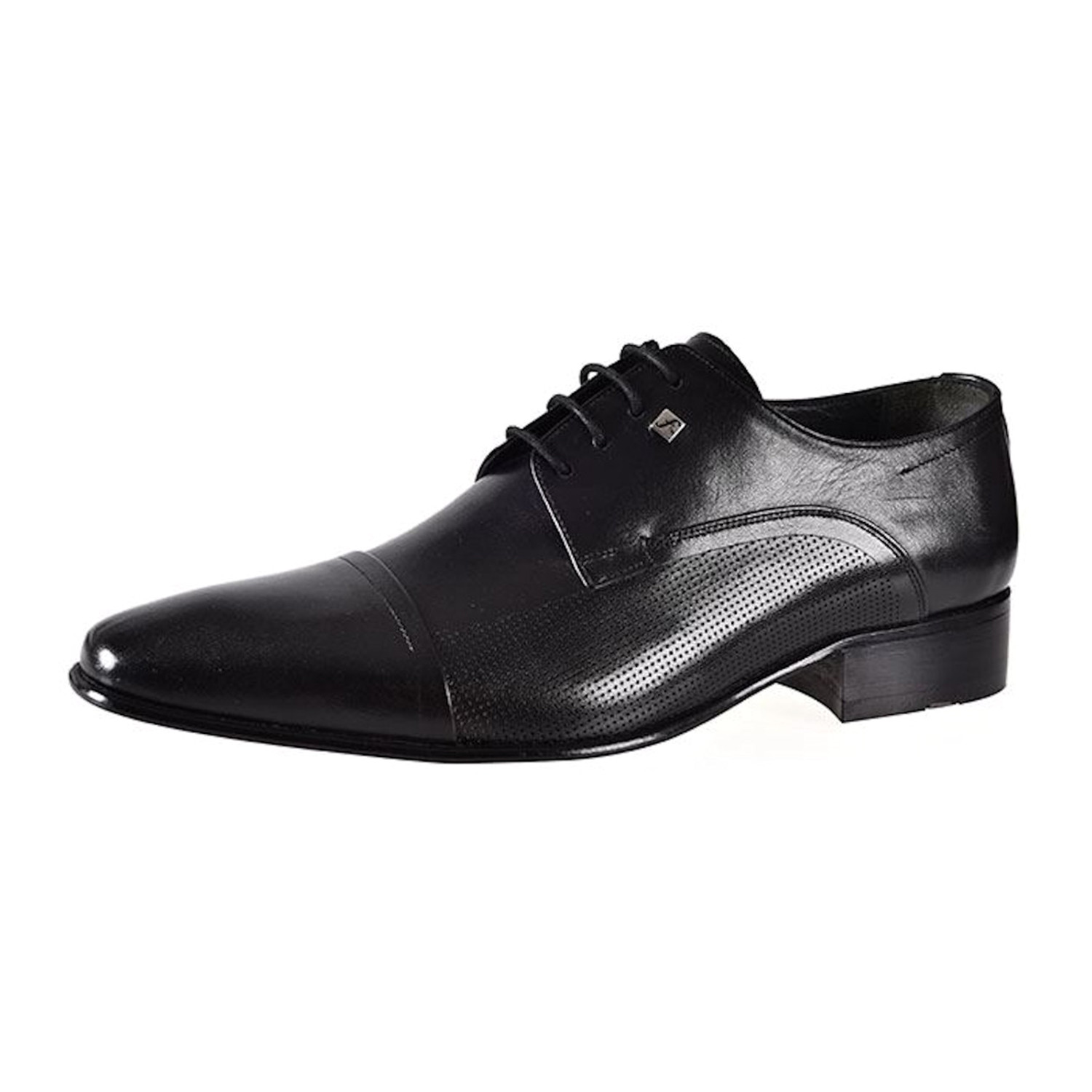 Pama Leather Dress Shoes Black