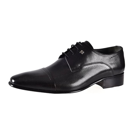 Pama Leather Dress Shoes // Black (Euro: 37)