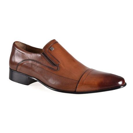 Doba Slip On Dress Shoes // Tobacco (Euro: 37)