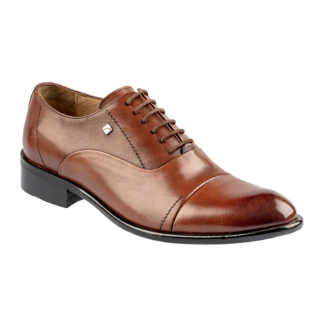 Argentis Leather Dress Shoes // Tobacco (Euro: 37)