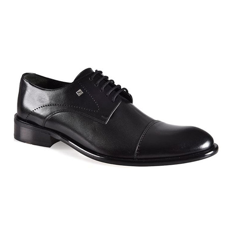 Moritz Leather Dress Shoes // Black (Euro: 37)