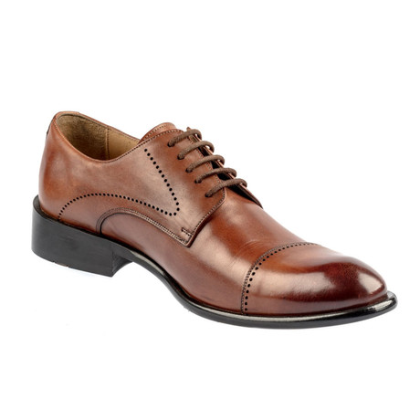 Batu Leather Dress Shoes // Tobacco (Euro: 37)