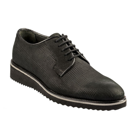 Nelo Leather Modern Dress Shoes // Black (Euro: 37)