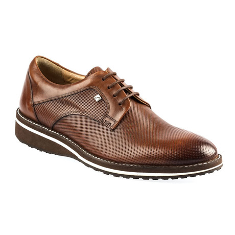 Yalda Leather Modern Dress Shoes // Tobacco (Euro: 37)