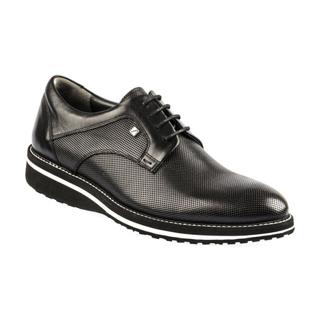 Arnaut Leather Modern Dress Shoes // Black (Euro: 37)