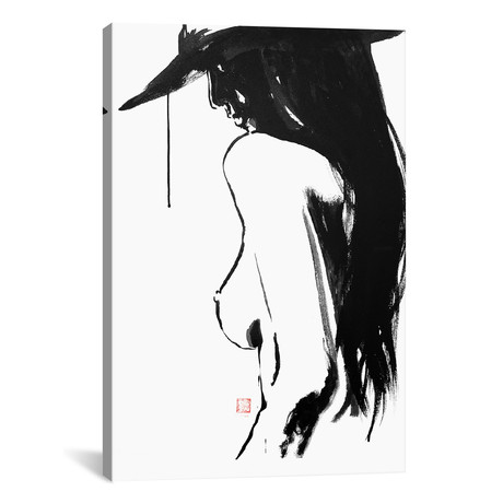 "Nude With Hat II (18""W x 26""H x 0.75""D)"