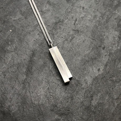Unity Pendant Silver with Silver Chain