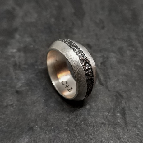 Division Ring in Oxidized Silver (5)