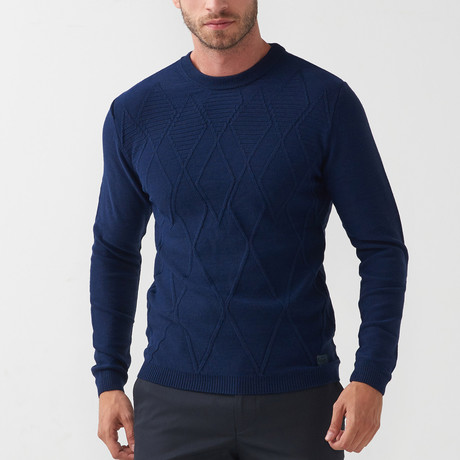 Tricot Jumper // Dark Blue (S)