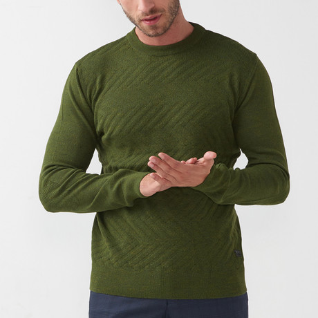 Tricot Sweater // Olive (S)