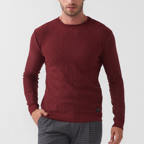 Tricot Jumper // Claret Red (S)
