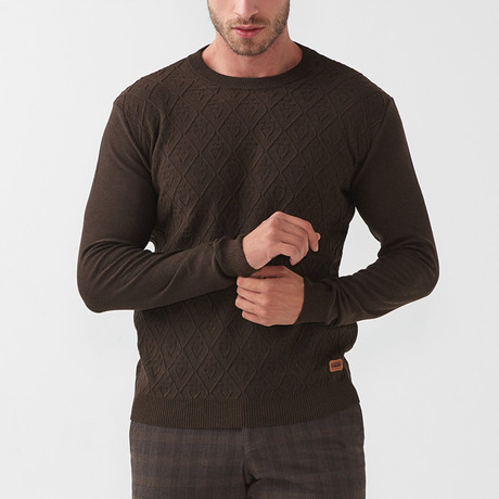 Tricot Jumper // Brown (S)