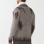 Tricot Cardigan // Brown (S)