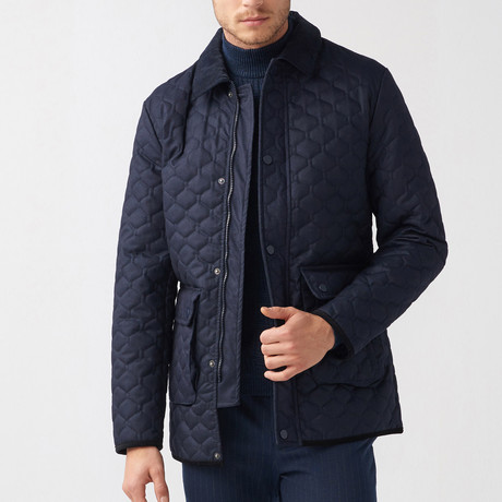 Bradly Coat // Dark Blue (Euro: 44)