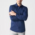 Keenan Shirt // Dark Blue (S)