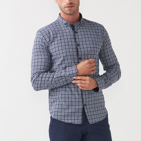 Henry Shirt // Dark Blue (S)