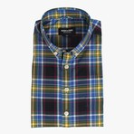 Wolfe // Black + Yellow Plaid (Small (Skinny))