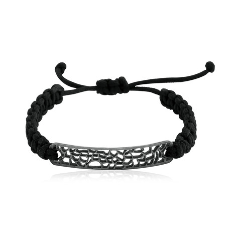 Cut-Out Plate Braided Bracelet (5–6 cm // 2–2.3 in)