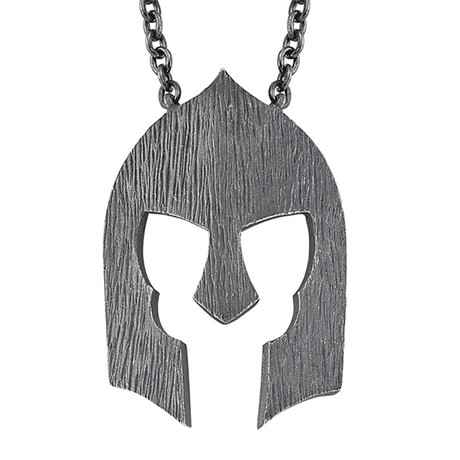 Spartan Helm Necklace (60 cm // 24 in)