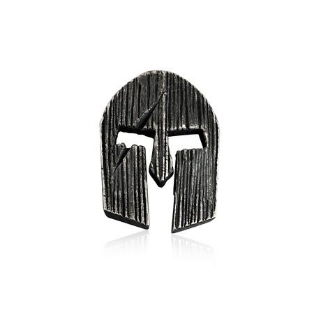 Dark Viking Helm Earring // Large