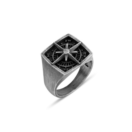 Compass Ring (Size 8)