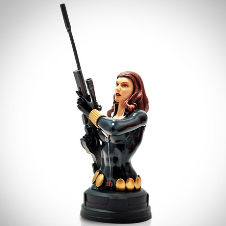 Black Widow // Vintage 2012 // Limited Edition Bust Statue