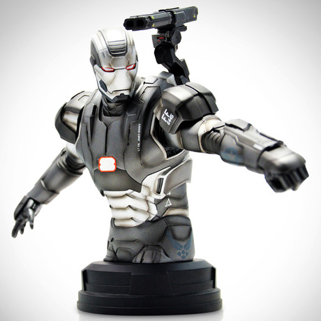 War Machine // Vintage 2013 Exclusive Edition // Limited Edition Bust Statue
