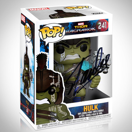 Hulk Gladiator // Stan Lee Signed // Funko Pop