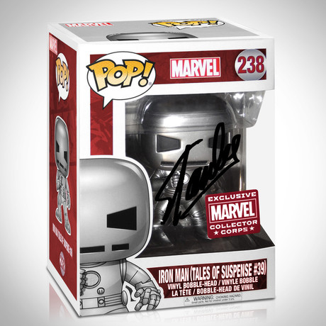 Iron Man Tales Of Suspense // Stan Lee Signed // Exclusive Edition Funko Pop